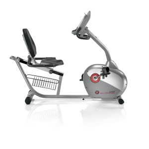 Schwinn 250 recumbent bike review - side view