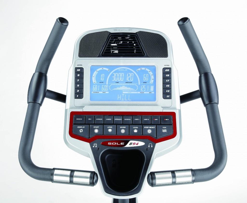 sole b94 upright bike console