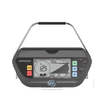Horizon comfort u upright bike review console