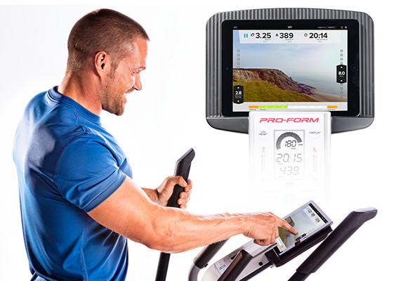 proform hybrid trainer pro elliptical machine